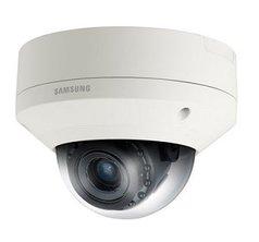 Уличная защищенная купольная IP камера Wisenet (Samsung) SNV-5084RP